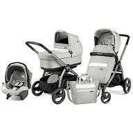 Коляска 3в1 Peg-Perego Book S Titania Pop Up Modular Lux Pure