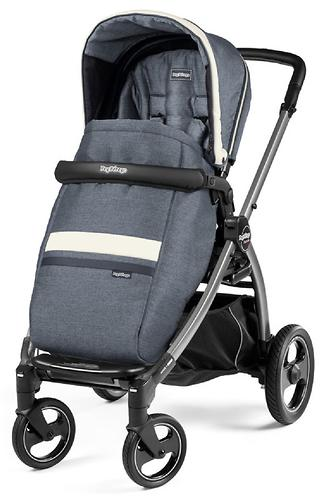 Коляска 2в1 Peg-Perego Book S Titania Pop Up Modular Lux Mirage (9)