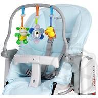 Чехол и дуга с игрушками на стульчик Peg Perego Tatamia Azzuro голубой