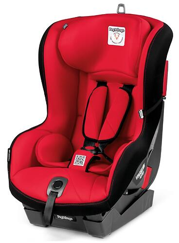 Автокресло Peg-Perego Viaggio 1 Duo-Fix K + Isofix Base 0+1 Rouge (8)