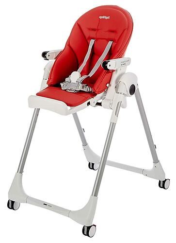 Стульчик Peg Perego Prima Pappa Follow Me Fragola (13)