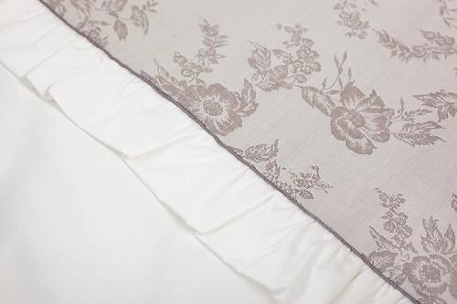 Комплект в кроватку Perina Elfetto Oval 6 предметов Молочно-Белый (6)