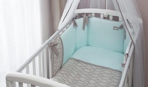 Комплект в кроватку Perina Elfetto 6 предметов Мятный (6)