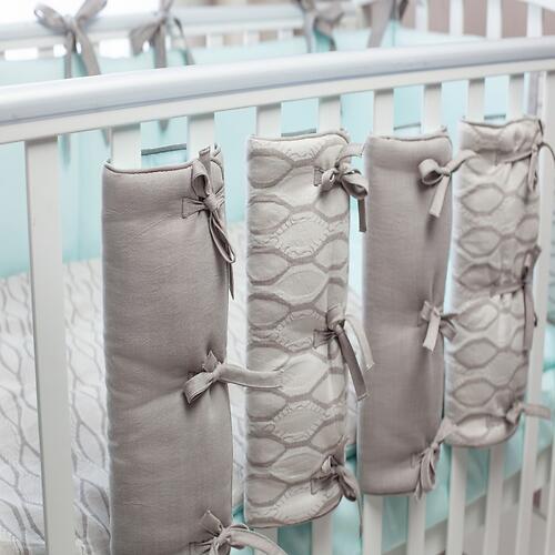 Комплект в кроватку Perina Elfetto 6 предметов Мятный (10)