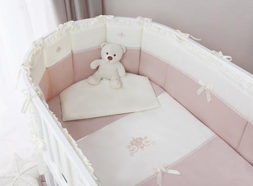 Комплект в кроватку Perina Эстель Oval 7 предметов 125х75 (5)