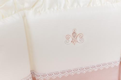 Комплект в кроватку Perina Эстель Oval 7 предметов 125х75 (8)