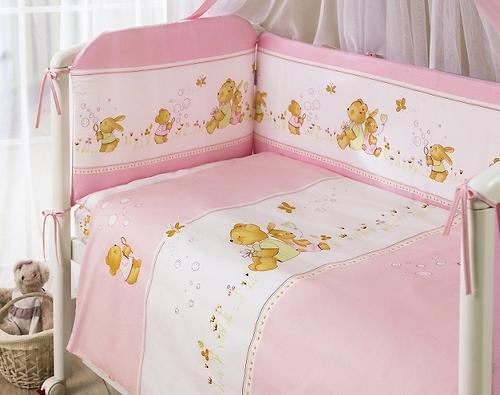 Постельное белье Perina Фея Лето розовое 4 предмета (4)