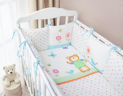 Комплект в кроватку Perina Глория Oval Hello 7 пр (4)