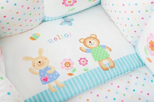 Комплект в кроватку Perina Глория Oval Hello 7 пр (5)