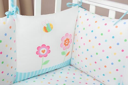 Комплект в кроватку Perina Глория Oval Hello 7 пр (6)