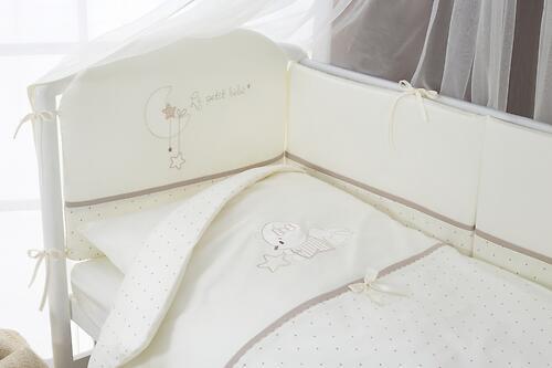 Постельное белье Perina Le Petit Bebe Молочно-кофейный 6 предметов (6)