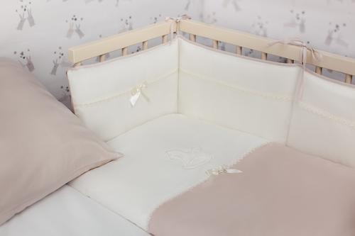 Уценка! Комплект в кроватку Perina Лошадка Mini 4 предмета (3)