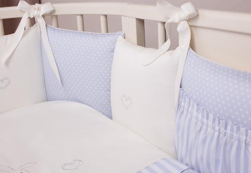 Комплект в кроватку Perina Неженка Oval 7 предметов НО7.4-125х75 Голубой (8)