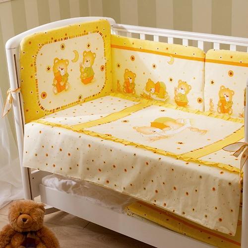 Постельное белье Perina Ника Мишка на подушке бежевый 3 предмета (3)