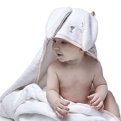 Полотенце детское т.м. Perina ПД-05.1.95 95х95см Лапушка Розовая (9)