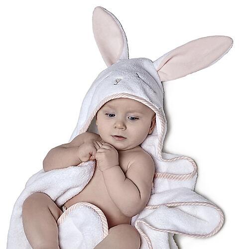 Полотенце детское т.м. Perina ПД-05.1.95 95х95см Лапушка Розовая (10)