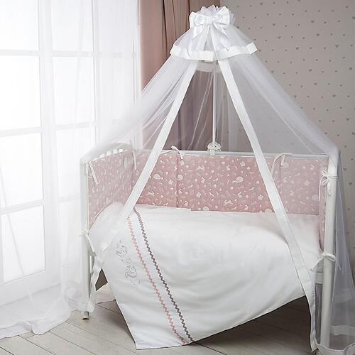 Постельное белье Perina Toys Зверюшки Форест Розовый (8)