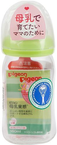Бутылочка Pigeon Перистальтик Плюс стеклянная 160 мл (5)