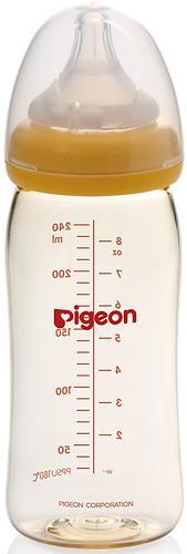 Бутылочка Pigeon для кормления Перистальтик Плюс Soft Touch PPSU 240мл (4)