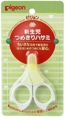 Ножнички Pigeon для ногтей новорожденных (7)