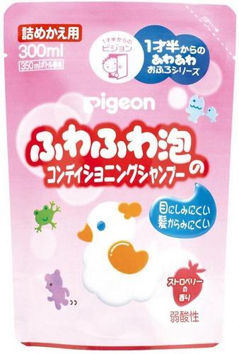Шампунь-пенка Pigeon 18+ 300 мл сменный блок (4)