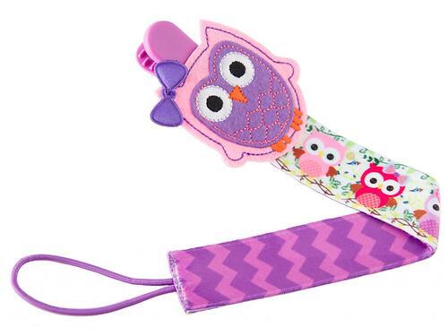 Держатель для пустышек Roxy Kids с игрушкой Сова (5)