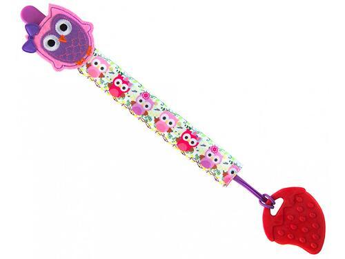 Держатель для пустышек Roxy Kids с игрушкой Сова (7)