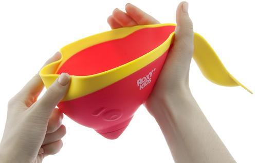 Ковш для ванны Roxy Kids с лейкой Коралловый (13)