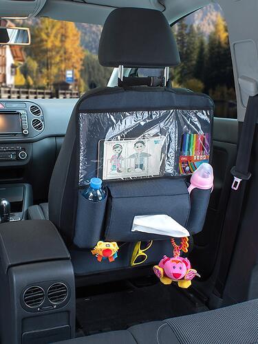 Органайзер Roxy Kids на спинку автомобильного сиденья (13)