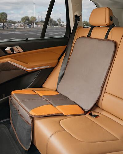 Накидка на сиденье автомобиля Roxy Kids Шоколадная (14)