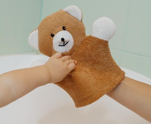 Махровая мочалка-рукавичка Roxy Kids Baby Bear (6)