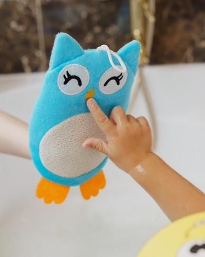 Махровая мочалка-рукавичка Roxy Kids Baby Owl (7)