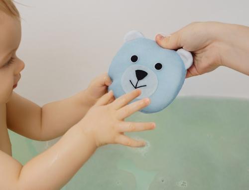 Мягкая губка Roxy Kids для купания Мишка (6)