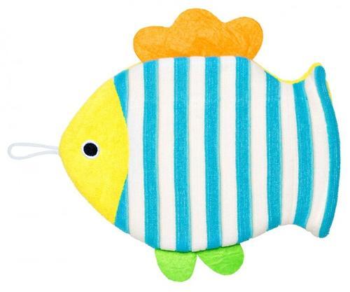 Махровая мочалка-рукавичка Roxy Kids Рыбка (4)