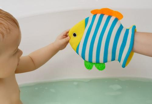 Махровая мочалка-рукавичка Roxy Kids Рыбка (6)