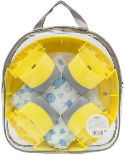 Горшок Roxy Kids дорожный и насадка на унитаз HandyPotty Лимонный (13)