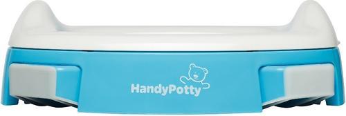 Горшок Roxy Kids дорожный и насадка на унитаз HandyPotty Голубой (14)