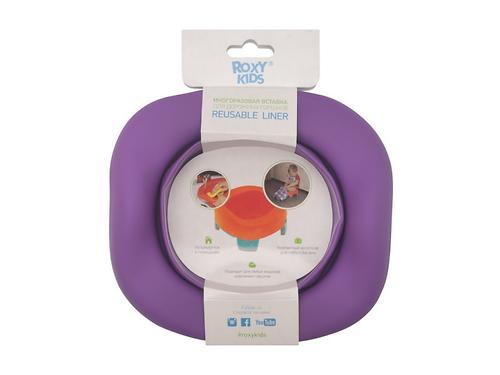 Универсальная вкладка Roxy kids для дорожных горшков Фиолетовая (11)