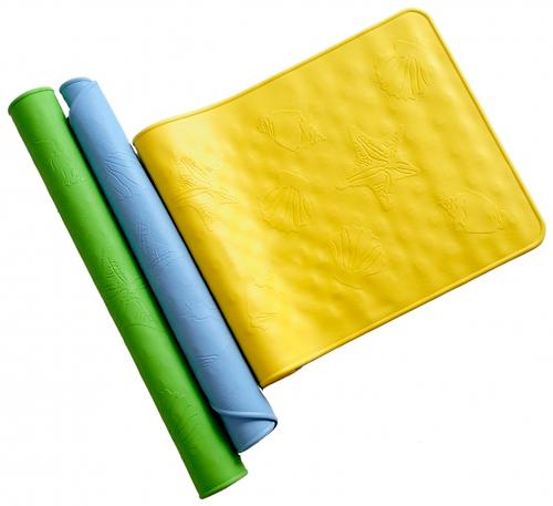 Коврик Roxy Kids антискользящий резиновый для ванны 34х74 см (1)