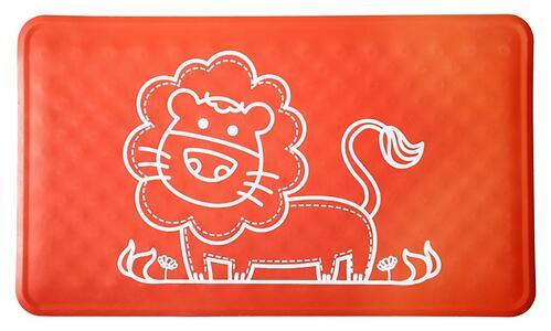 Антискользящий резиновый коврик для ванны Roxy Kids Красный (5)