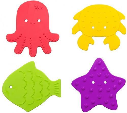Мини-коврики для ванны Roxy Kids в ассортименте 4 шт/уп (13)