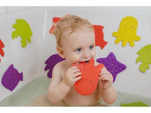 Мини-коврики для ванны Roxy Kids в ассортименте 4 шт/уп (17)