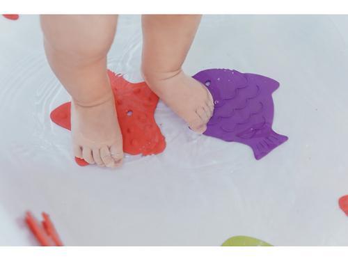 Мини-коврики для ванны Roxy Kids в ассортименте 4 шт/уп (18)