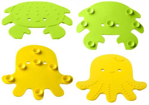 Антискользящие мини-коврики Roxy-Kids для ванны в ассортименте 12 шт/уп (9)