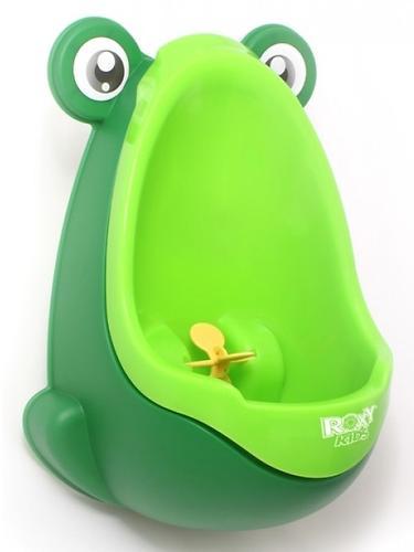 Писсуар Roxy-Kids на присоске для мальчиков Лягушка Зеленый (5)
