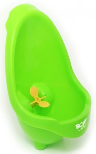 Писсуар Roxy-Kids на присоске для мальчиков Лягушка Зеленый (6)