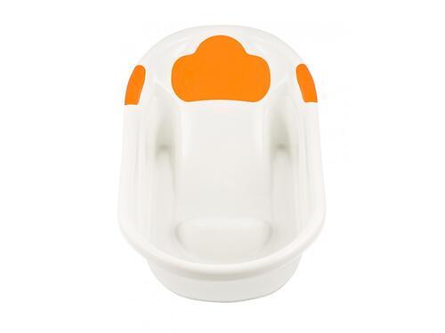 Ванночка Roxy Kids с анатомической горкой и сливом Оранжевая (9)