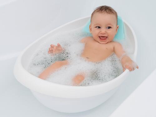 Ванночка-лодочка ROXY-KIDS со съемной горкой (11)