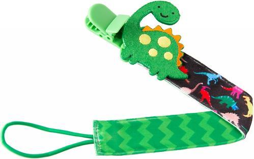 Держатель для пустышек Roxy Kids с игрушкой Динозаврик (6)