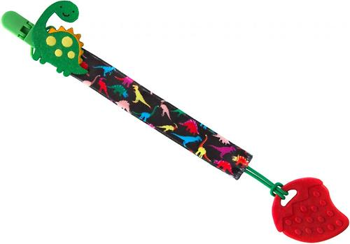 Держатель для пустышек Roxy Kids с игрушкой Динозаврик (8)
